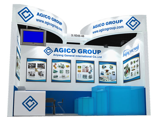 AGICO attend the 114 canton fair