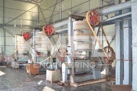 30 tpd peanut oil pressing plant workshop view
