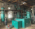 small batch soybean oil refinery unit in Ghana