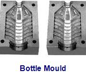 Semiautomatic Blow Molding Machine - Bottle Mould