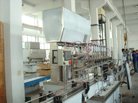 Edible Oil Filling Line