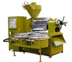 Integrated Oil Press Machine