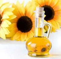 sunflower seeds and sunflower oil
