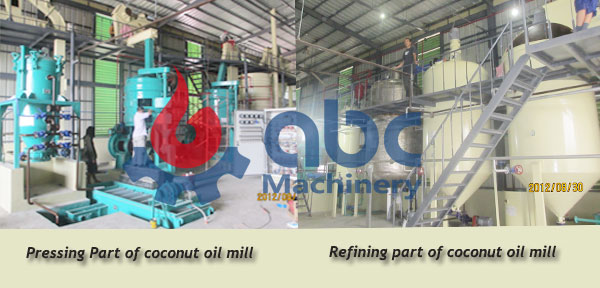 complete copra oil mill factory