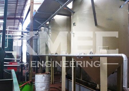 copra oil refining plant