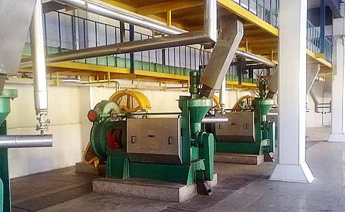 corn oil machinery
