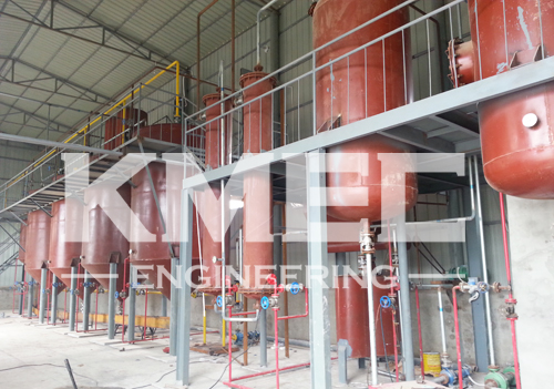 groundnut oil refining workshop