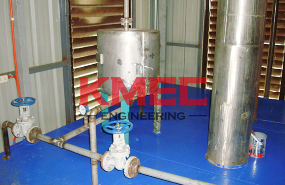 heat exchanger for the 20tpd coconut refinery unit