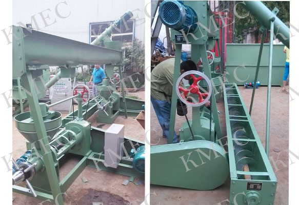 mini scale oil pressing unit for niger seeds