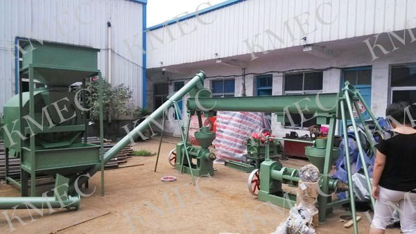 small capacity oil pressing set unit for niger seed