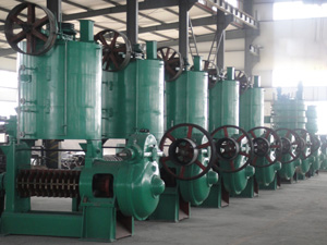 oil mill equipment
