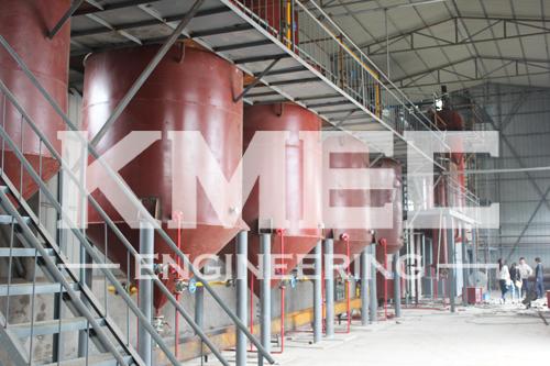 soybean oil refining workshop
