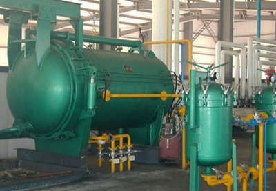 production line for edible oil from kernels-extraction