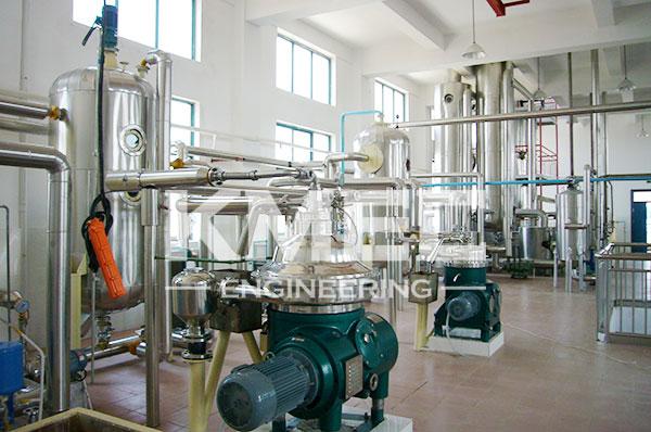 rice bran oil project - refining workshop