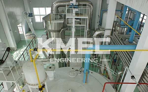 rice bran oil project - solvent extraction workshop