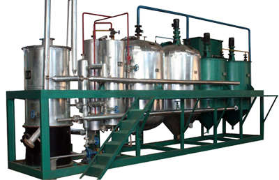 small scale cotton seed oil processing plant