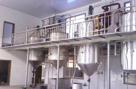 small vegetable oil refinery factory