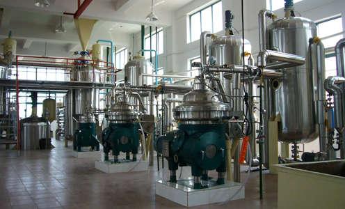 soya bean oil refinement process
