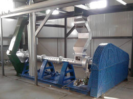 soybean oil processing - extruder