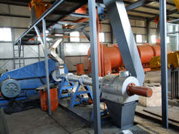 soybean oil processing - extruding machine
