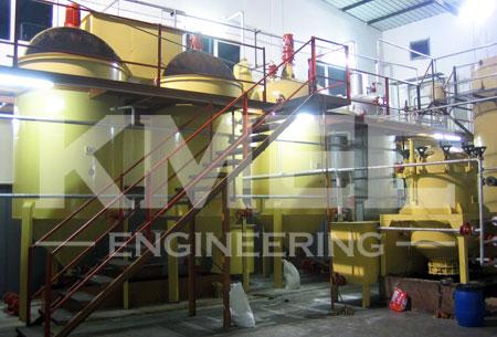 soybean oil refining plant workshop