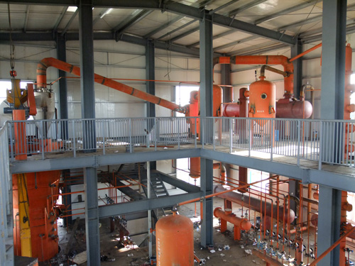 Plant Oil Extraction Plant