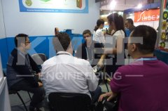 customers come to us at the 116th canton fair