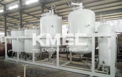 10TPD sunflower seeds oil pressing and refining line Moldova