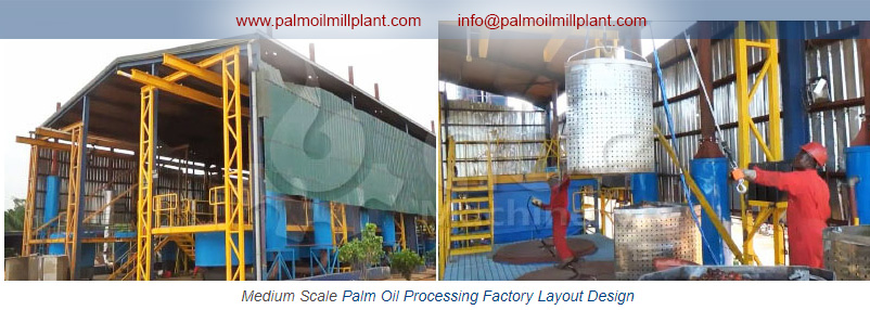 crude palmoil processing plant